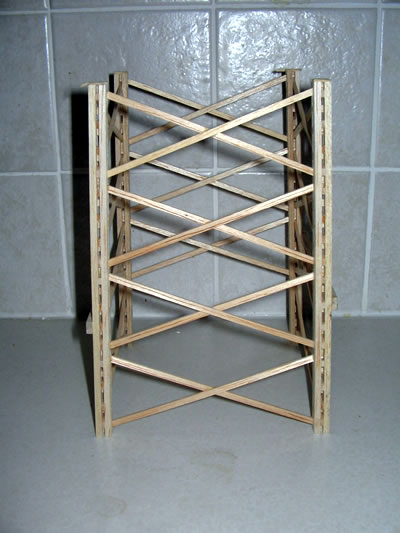 An introduction to the construction and the balsa wood structure